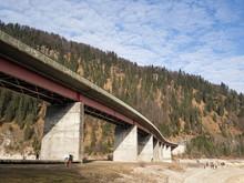Low Angle View Of Bridge Over ...