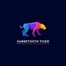 Vector Logo Illustration Saber...