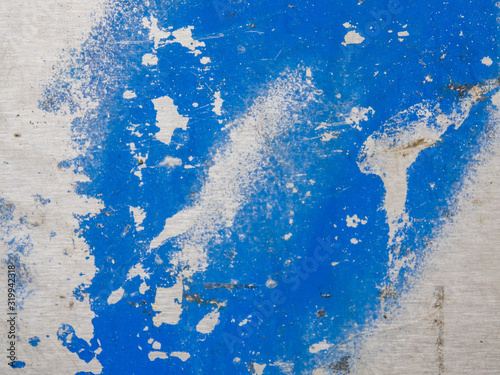 Close-Up Of Damaged Painted Wall Fototapet