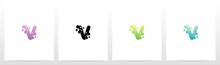 Soap Bubble On Letter Logo Des...