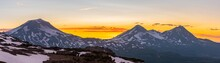 Three Sisters Mountains Panora...