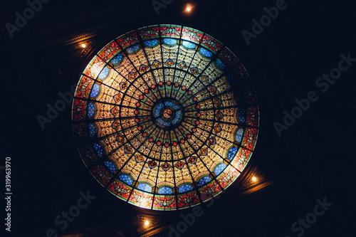 Photo Directly Below Shot Of Church Cupola