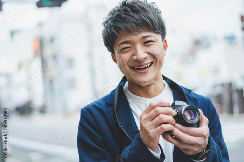 Photo カメラ男子