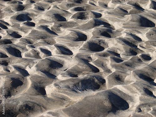 Valokuva full frame shot of dimpled sand