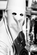 Close-Up Of Ku Klux Klan Perso...