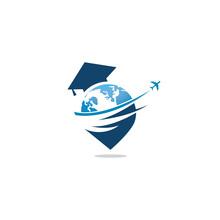 Education Vector Logo Design.