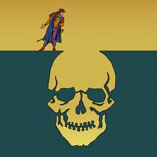 Hamlet And The Skull. Man Next...