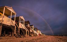 Beach Hut Rainbow
