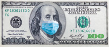 100 Dollar Banknote With Medic...