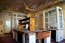 Interior Of Kitchen In Abandoned House