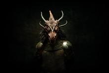 Portrait Of A Dragon-headed Cr...