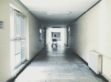 Stretcher In Hospital Corridor