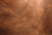 Copper Background. There Are S...