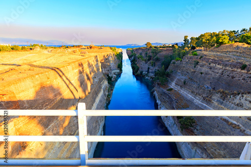 Valokuva Corinth Canal in Greece