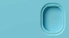 Airplane Window Mockup, Travel...