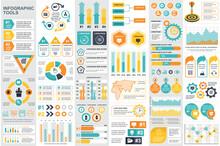 Bundle Infographic Elements Da...