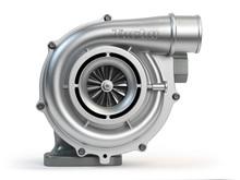 Car Turbocharger Isolated On W...