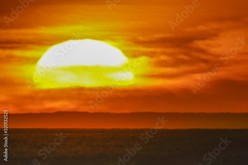 Fototapety, obrazy: sunset in the desert