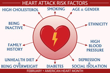 Heart Attack Risk Factor Infog...