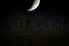 Stonehenge - Night Sky