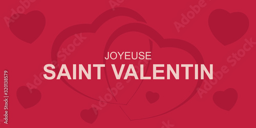 Saint Valentin Canvas Print
