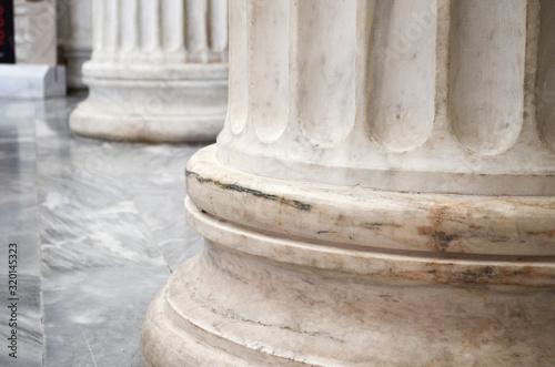 Close-Up Of Colonnade Fototapet