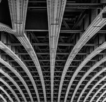 Full Frame Shot Of Blackfriars Bridge Ceiling