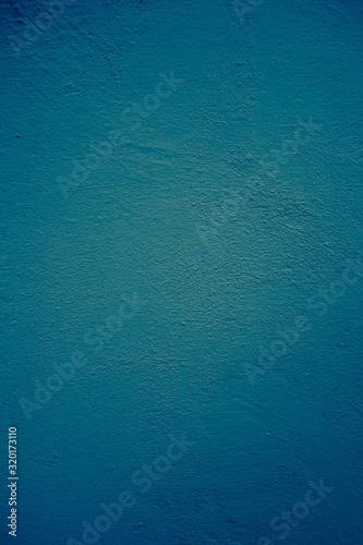 Full frame shot of blue wall - fototapety na wymiar