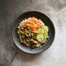 Beef Bulgogi Bowl With Pickled...