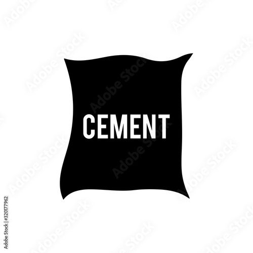 Photo Cement bag icon