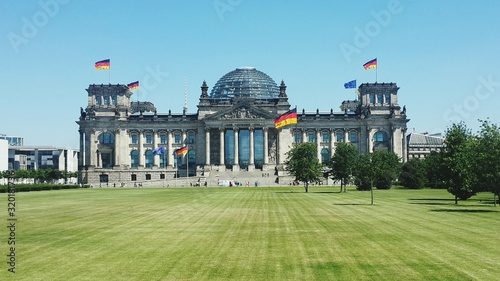 Stampa su Tela view of reichstag building