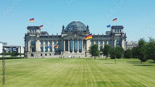 Fotografiet view of reichstag building