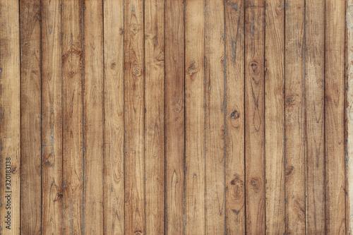 Textura de pranchas de madeira clara rústica envelhecida na vertical Wallpaper Mural