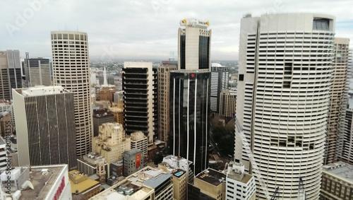 Fototapety, obrazy: SKYSCRAPERS IN CITY