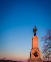 Civil War Monument In Gettysbu...