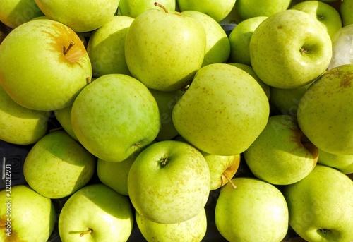 Papel de parede Full Frame Shot Of Granny Smith Apples