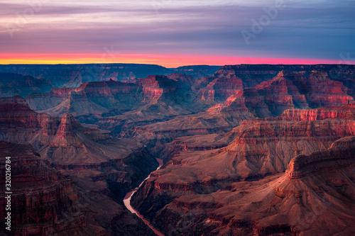Fototapeta Sunset Grand Canyon