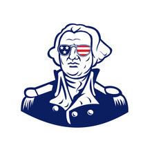 Washington Wearing Sunglasses ...