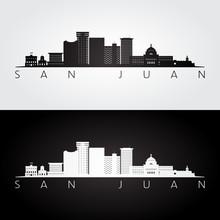 San Juan Skyline And Landmarks...