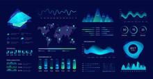 Dashboard UI. Futuristic Data ...
