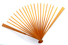 Fan Bone Of Paper Folding Fan ...