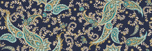 Seamless Ethnic Pattern Of Pai...
