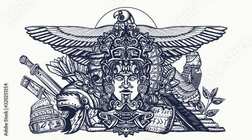 Obraz na plátne Ancient civilizations