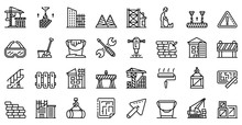 Building Reconstruction Icons ...