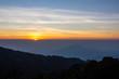 landscape sunrise at inthanon chaingmai thailand