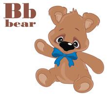 Teddy Bear And Abc