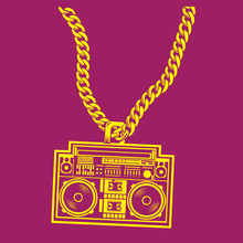 Hip Hop Bling Bling Necklace