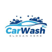 Car Detailing, Car Wash Logo Vector