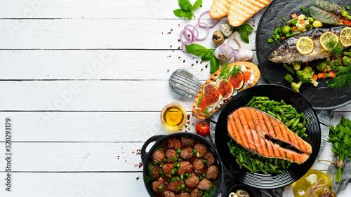 Food Tablou Canvas