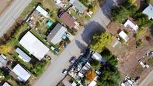 Birdseye View Aerial With Slow...